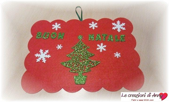 il dietroporta natalizio