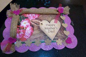 Targa home made festa della mamma